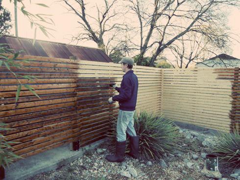 Weekend Diy Modern Fence Willard And May Outdoor Living