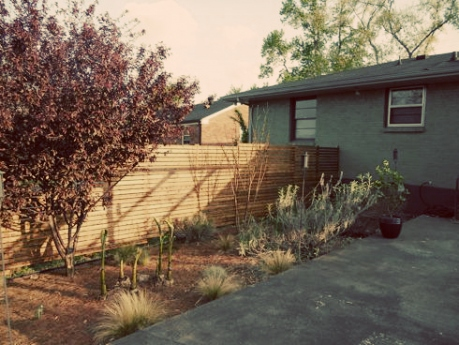 modern fence how to