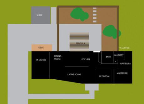 backyard fence layout