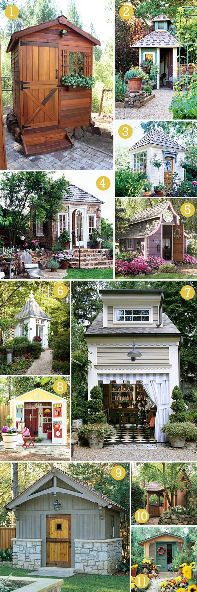 garden shed inspiration