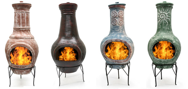 mexican fireplace chimenea garden chiminea from willard and may store