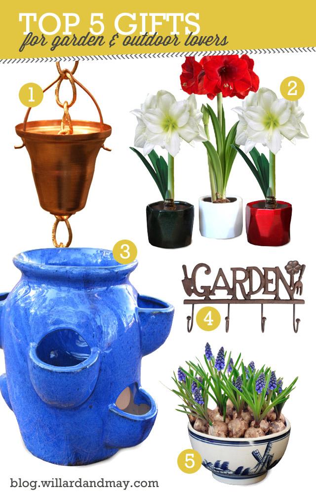 top 5 garden gifts