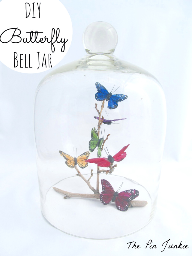 Bell Jar Drawing Butterfly Bell Jar Tutorial by