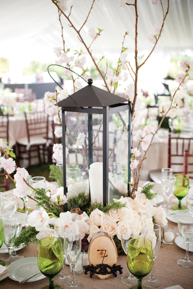 Lantern Centerpieces | Willard and May Outdoor Living Blog